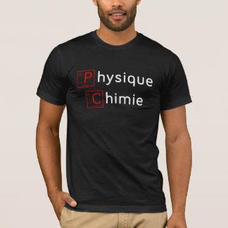 Tshirts Física Química (periodic desenho) - Cientista