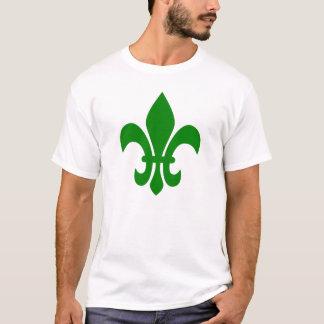 Tshirts Flor de lis verde