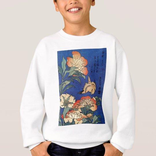 Tshirts Flores e um pássaro