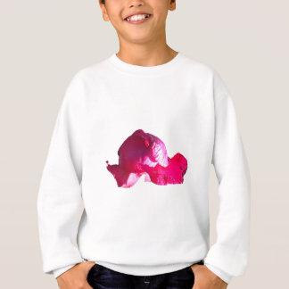 Tshirts Flores roxas do botão do rosa do rosa
