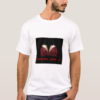 Tshirts geek do computador