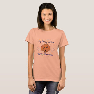 Tshirts golden retriever