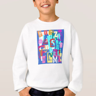 Tshirts Happy com alfabeto