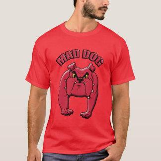 Tshirts Homens loucos T vermelho do cão