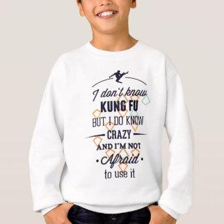 Tshirts Kung Fu ostenta louco