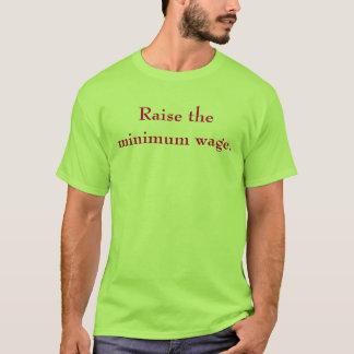 Tshirts Levante o salário mínimo