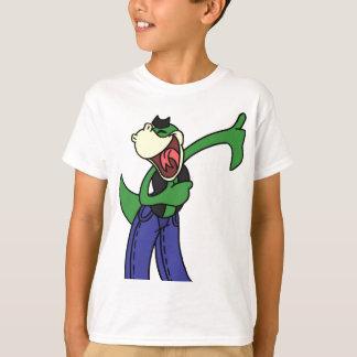 Tshirts Lizardface feliz - cor lisa