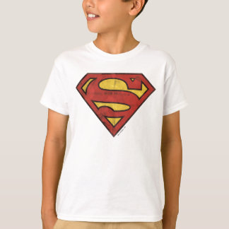 Tshirts Logotipo do Grunge do S-Protetor | do superman