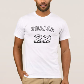 Tshirts Mercadoria do design de Khalsa do sikh de Khanda