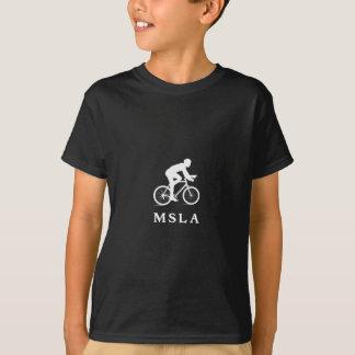 Tshirts Missoula Montana que dá um ciclo MSLA
