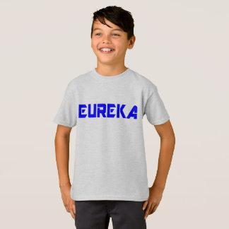 Tshirts miúdos legal Eureka-Engraçados da exclamação do