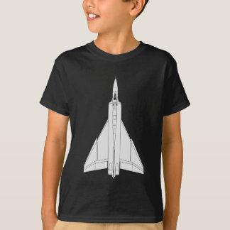 Tshirts Modelo da seta de Avro