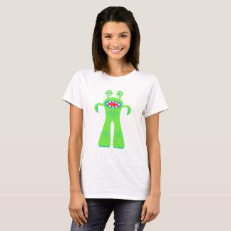 Tshirts Monstro pequeno verde