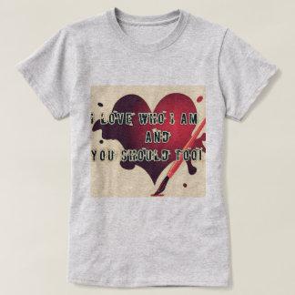 Tshirts Mostre-lhe o amor você mesmo