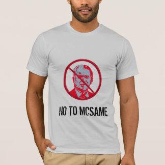 Tshirts Não a McSame McCain