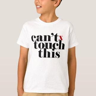 Tshirts Não pode tocar nisto