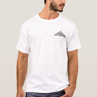 Tshirts NEJEEP cortado com logotipo da montanha