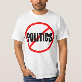 """TSHIRTS """"NENHUMA POLÍTICA """""""