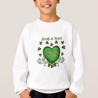 Tshirts O coração irlandês Erin vai coração verde de Bragh