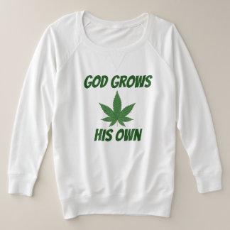 Tshirts O deus cresce sua própria erva daninha
