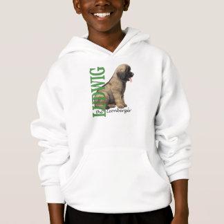 Tshirts O Ludwig do miúdo o Hoodie do filhote de cachorro