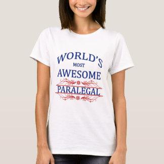 Tshirts O Paralegal o mais impressionante do mundo