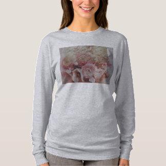 Tshirts o ranúnculo floresce o hoodie do AA do grunge