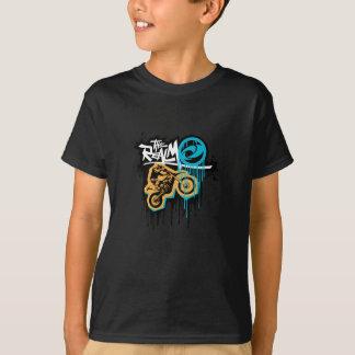 Tshirts O T de Dirtbike do reino
