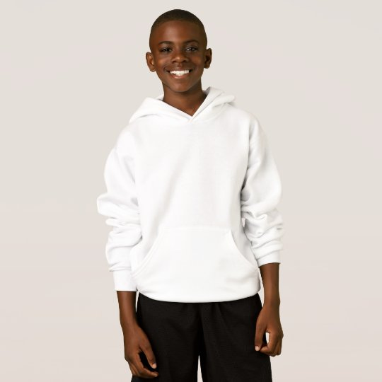 Agasalho com capuz infantil da Hanes ComfortBlend®, Branco