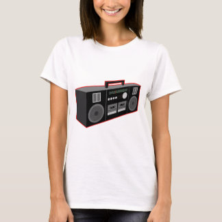 Tshirts os anos 80 Boombox