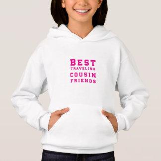 Tshirts Os melhores amigos de viagem do primo - rosa
