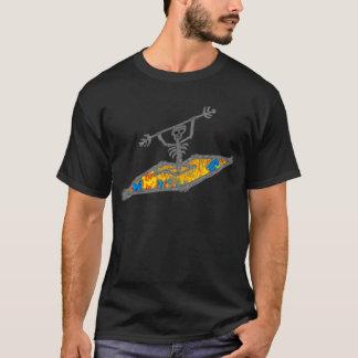 Tshirts Ossos do Hippie do caiaque