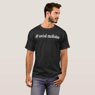 Tshirts Padrinho de casamento - mediador social. O bro