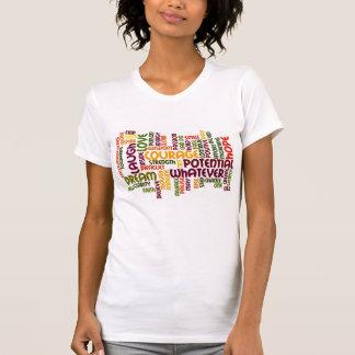 Tshirts Palavras inspiradores #1 - atitude positiva