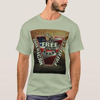 Tshirts Patriotas americanos livres
