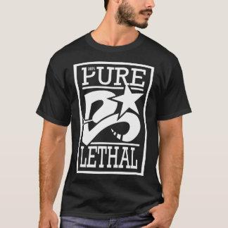 Tshirts Preto letal puro de 100%