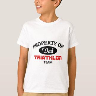 Tshirts Propriedade da equipe do Triathlon