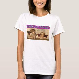 Tshirts Querubins do anjo do Sistine Madonna