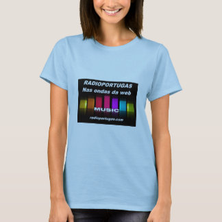 Tshirts Radioportugas , nas ondas da web , feminino