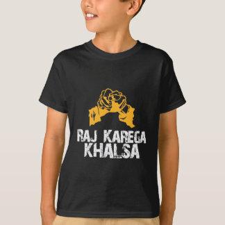 Tshirts Raj Karega Khalsa