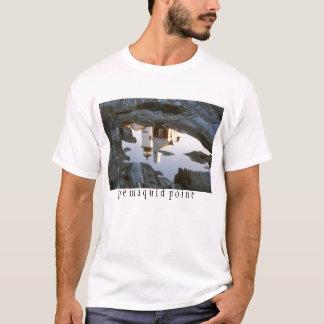 Tshirts Reflexão da piscina da maré de Pemaquid