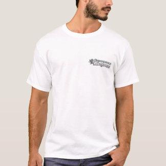 Tshirts Reinos da fortaleza - logotipo - branco