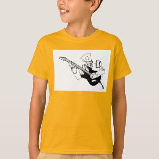 Tshirts robô do rock and roll