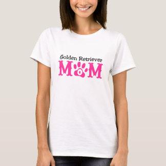 Tshirts Roupa da mamã do golden retriever