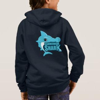Tshirts Sahrk. Hoodie do tubarão de Hammerhead
