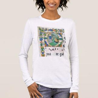 Tshirts Senhora 515 f.1r o esboço miraculoso dos peixes,