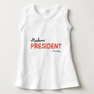 Tshirts Senhora presidente Bebê/vestido da criança