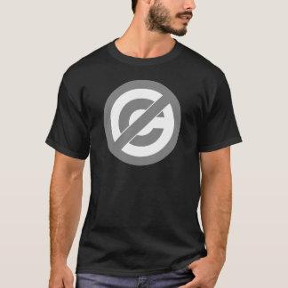 Tshirts Símbolo de Anti-Copyright do dominio público