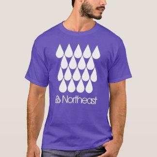 Tshirts Símbolo do nordeste do setor - pingos de chuva