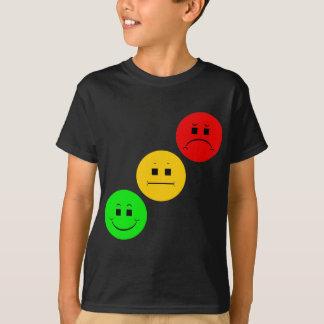 Tshirts Sinal de trânsito temperamental diagonal sem a